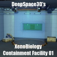 DeepSpace3D's Xenobiology Containment Facility 01