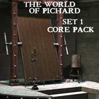 "Davo's World of Pichard ""Set 1"" Core Pack"