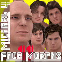 Farconville's Face Morphs 11 for Michael 4
