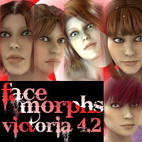 Farconville's Face Morphs for Victoria 4.2 Vol.2