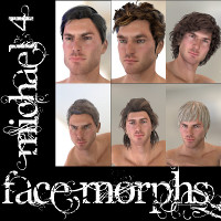Farconville's Face Morphs for Michael 4 Vol.5