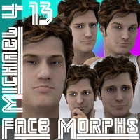 Farconville's Face Morphs 13 for Michael 4