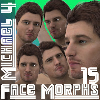 Farconville's Face Morphs 15 for Michael 4