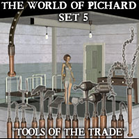 "Davo's World of Pichard, Set 5: ""Tools of the Trade"""
