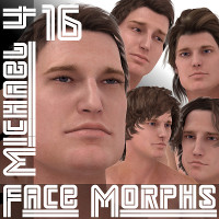 Farconville's Face Morphs 16 for Michael 4