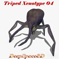 DeepSpace3D's Triped Xenotype