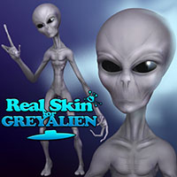 Darkseal's Real Skin for Grey Alien
