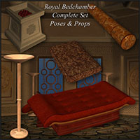 Richabri Royal Bedchamber Set