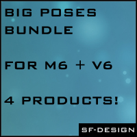 Big Poses Bundle for G2MF