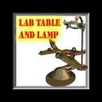 Davo's MadLab Table & Lamp!