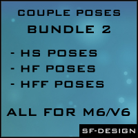 Couple Poses Bundle 2