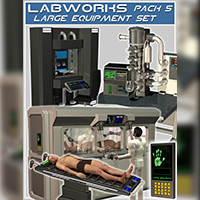 Labworks Pack 5: Large Equipment