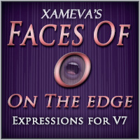 Faces of O - Edge Expressions for V7