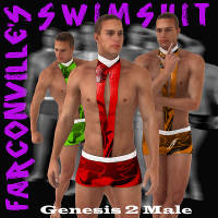 Swimsuit for Genesis 2 Male