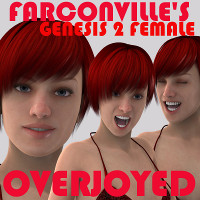 Genesis 2 Female Overjoyed