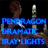 Iray Dramatic Lights For Daz Studio