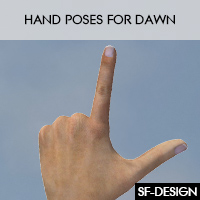 Hand Poses For Dawn