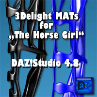 "3Delight MATs For ""The Horse Girl"""