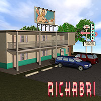 Retro-Motel Set