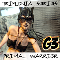 Triplonia Primal Warrior For G3F