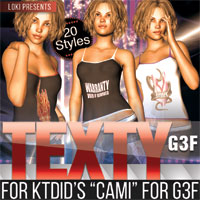 Texty For KTdid's Cami