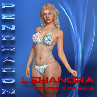 Lehandra For Genesis 3 Female