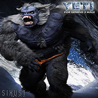 The Yeti For Genesis 3 Male
