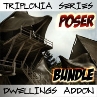Triplonia Dwellings Construction Set Bundle POSER