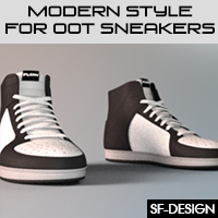 Modern Style Add On For OOT Sneakers
