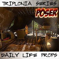 Triplonia Daily Life Props Set Poser