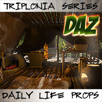 Triplonia Daily Life Props Set DS