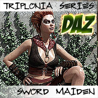 Triplonia Sword Maiden For G3F
