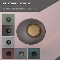 Future Lights HDRI Iray Environments
