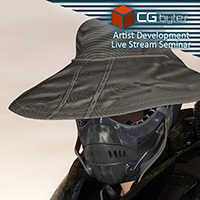 ArtDev DarkVoid Exploration Unit Bucket Hat And Camo Wrap
