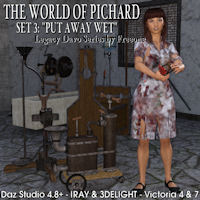 Legacy Davo World Of Pichard Set 3