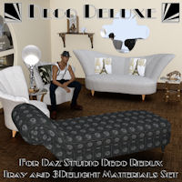 Deco Deluxe For Daz Studio Deco Redux
