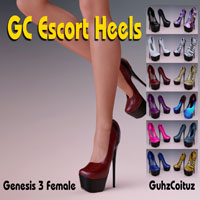 GC Escort Heels For G3F