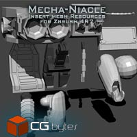 ArtDev Mechaniacle Zbrush Resources 1