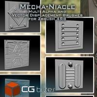 ArtDev Mechaniacle Zbrush Resources 2