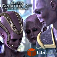 ArtDev Alien Creation Kit 1 For G3F