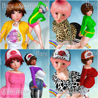 Haru Clothing Set 1