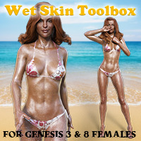 Wet Skin Toolbox For G3F & G8F
