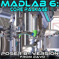 "Madlab 6 ""Core Package"" For Poser 8+"