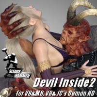 Devil Inside 2 For G8 Couple