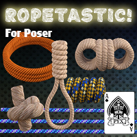 Ropetastic! - For Poser