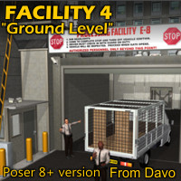 Facility 4 Ground Level For Poser 8+