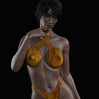 Gynoid Swimwear 1 For G3F/G8F PBR Textures