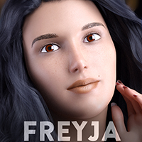 Freyja For Genesis 3 And 8 Females