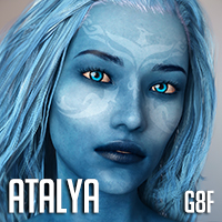 Atalya For Genesis 8 Females