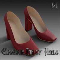 Glamour Pin Of Heels 04